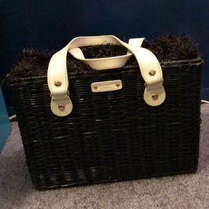 Kate Spade wicker purse